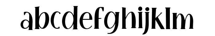 LittlePoppy-Regular I Font LOWERCASE