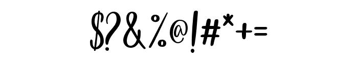 LittlePoppy-Script I Font OTHER CHARS