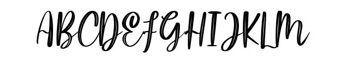 LittlePoppy-Script II Font UPPERCASE