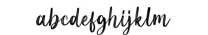 LittlePoppy-Script II Font LOWERCASE