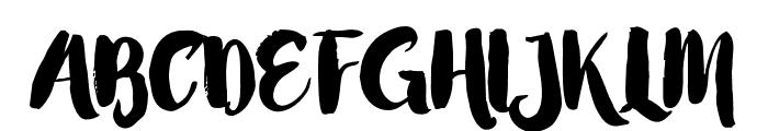 LittleStars Font UPPERCASE