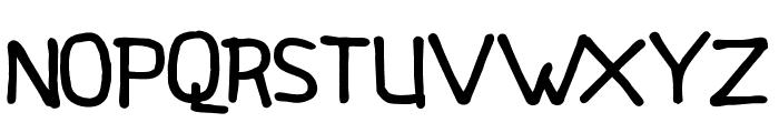 LittleStarsSans Font UPPERCASE