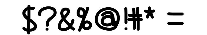 Lolaboldfont Font OTHER CHARS