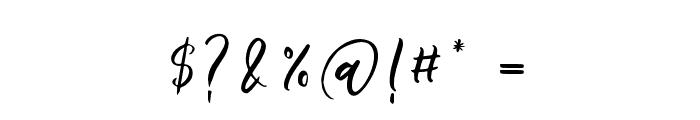 LollipoScript Font OTHER CHARS