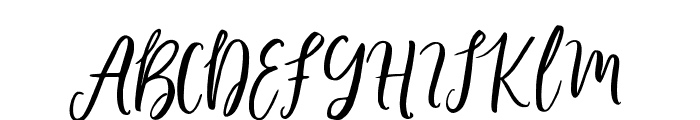 LollipoScript Font UPPERCASE