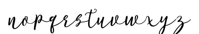 LollipoScript Font LOWERCASE