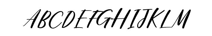 Loosy Brush Regular Font UPPERCASE
