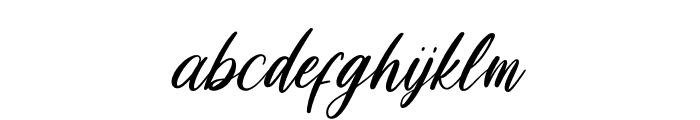 Loosy Brush Regular Font LOWERCASE
