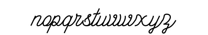 Lorena In Westfalen Script Font LOWERCASE