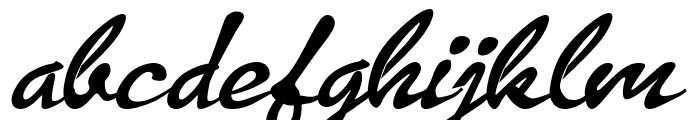 Los Porttal Font LOWERCASE