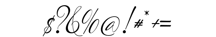 LotherdayScript Font OTHER CHARS