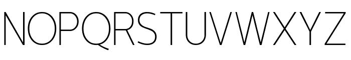 Lotoush Extra Light Font UPPERCASE