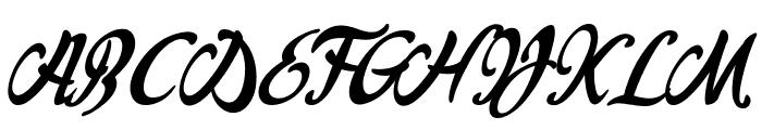 Louisiana Couture Font UPPERCASE