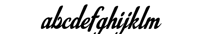 Louisiana Couture Font LOWERCASE