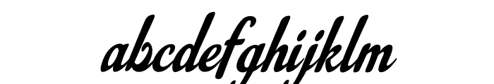 LouisianaCouture Font LOWERCASE
