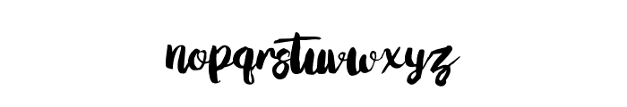 Love Moment Font LOWERCASE