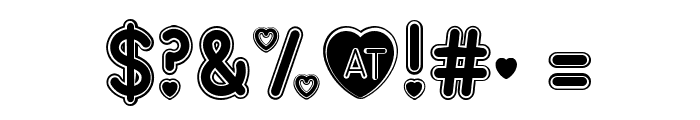 Love Song Font OTHER CHARS