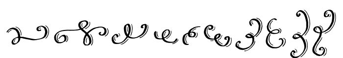Love & Stuff Extras Font OTHER CHARS