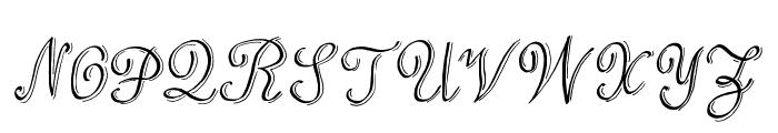Love & Stuff Font UPPERCASE