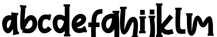 LoveAmerica Font LOWERCASE