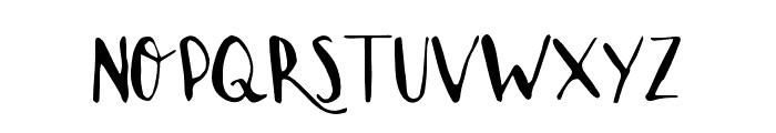 LoveLetter Font UPPERCASE