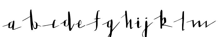 LoveLetter Font LOWERCASE