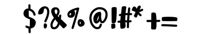 LoveTeddyBear Font OTHER CHARS