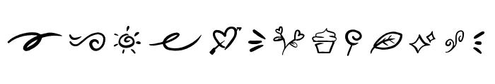 Lovea Doodle Font LOWERCASE