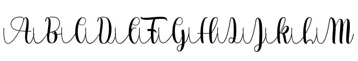 Lovea Hegena Font UPPERCASE