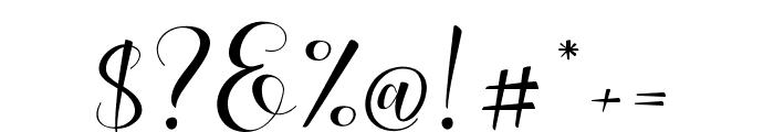 Lovea Script Font OTHER CHARS
