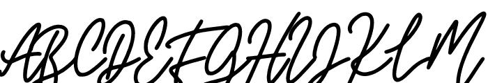 Lovely Garland Font UPPERCASE