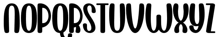 Lovely Regular Font UPPERCASE
