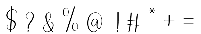 Lovely font Font OTHER CHARS