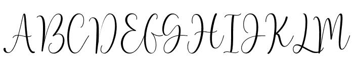 Lovely font Font UPPERCASE