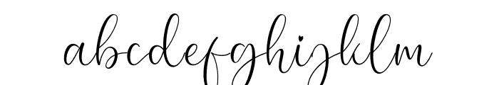 Lovely font Font LOWERCASE