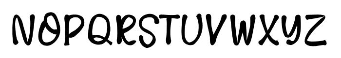 LovelyNW Font UPPERCASE