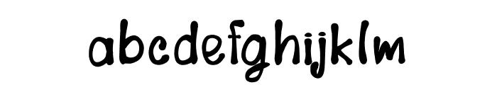 LovelyNW Font LOWERCASE