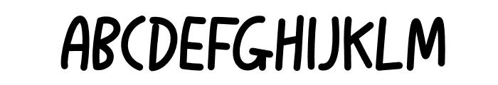 Lovelykiss Font UPPERCASE