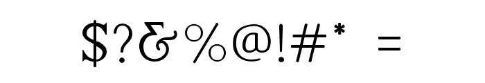 LovelynRegular Font OTHER CHARS