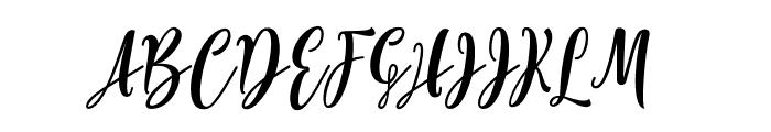 Lovelyou Font UPPERCASE