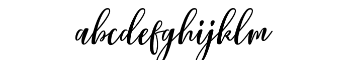 Lovelyou Font LOWERCASE