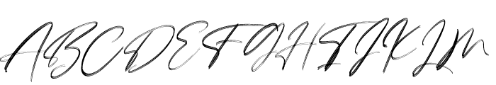 Lovers Brooks Rough Font UPPERCASE