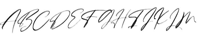 LoversBrooksRough Font UPPERCASE