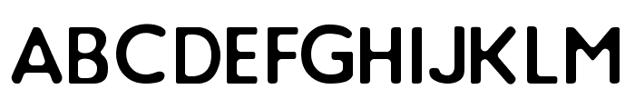 Loyal Watchman Clean Sans Serif Font UPPERCASE