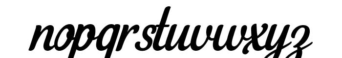 Loyal Watchman Clean Script  Font LOWERCASE