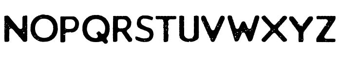 Loyal Watchman Sans Serif Font UPPERCASE