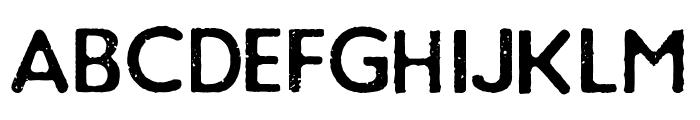 Loyal Watchman Sans Serif Font LOWERCASE