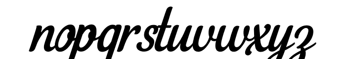 LoyalWatchmanCleanScript Font LOWERCASE