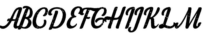 LoyalWatchmanScript Font UPPERCASE