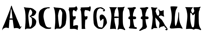 LucasBrandis Font UPPERCASE